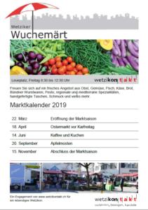 Eröffnung Wetziker Wuchemärt Leuenplatz @ Leuenplatz
