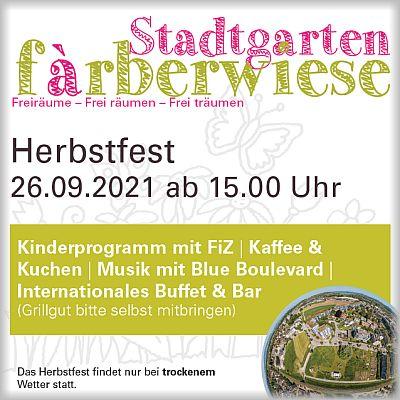 Herbstfest Färberwiese 2021