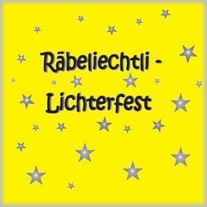 Räbeliechtli Lichterfest