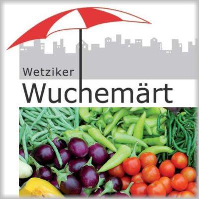 Wetziker Wuchemärt Leuenplatz – Apfelsaison, Apfelmost mit Apfelkuchen